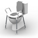 Spacesaver Toilet Riser