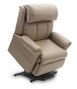 Dual motor Lift and Recline leather Dual Motor