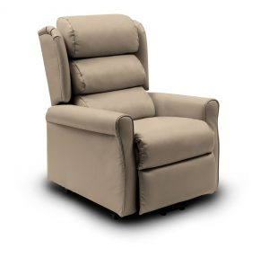 FLORENCE Leather LIFT CHAIR - TOFFEE